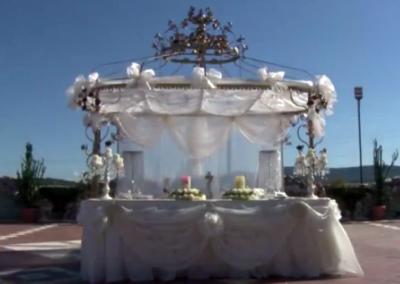 Сватбена украса в замъка в с. Равадиново